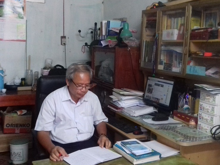 Thầy Nguyễn Chí Anh - Người thầy giáo giàu lòng thiện nguyện